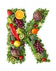 Vitamin K sources.